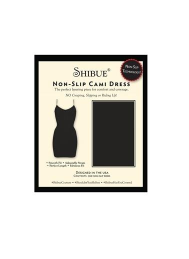 Shibue Kaymayan Elbise Siyah